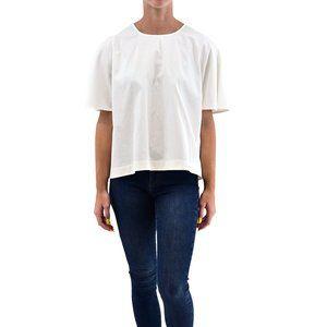KATE SPADE Cotton Silk Short Sleeve Top #LL4